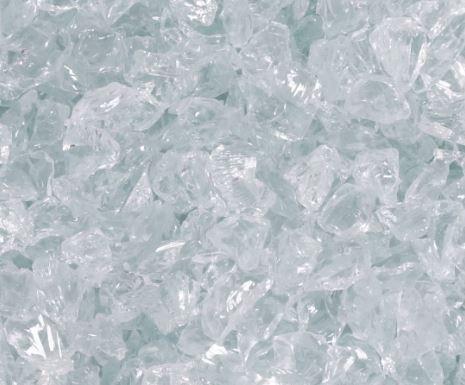 Glasgranulat (kantig) Palette à 1000kg
